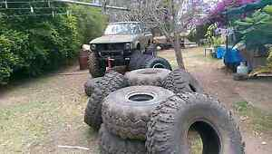 "39.5"" irok mud tyres  patrol Hilux 4X4 super swamper Ipswich Ipswich City Preview"