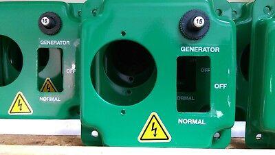 EZ GENERATOR SWITCH - UL/CSA  APPROVED - Works w/ All Generators