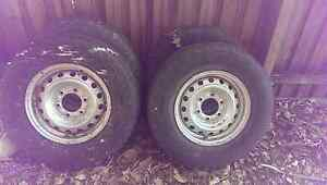 FREE Holden Rodeo RA Wheels (Tyres and rims) Hawthorn Boroondara Area Preview