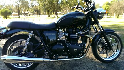 Triumph Bonneville 2010 Kitchener Cessnock Area Preview