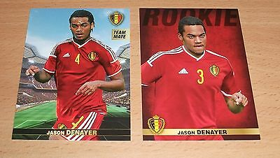 PANINI CARREFOUR LOT 15 58/180 - BELGIAN RED DEVILS TOUS ENSEMBLE JASON DENAYER