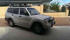 Mitsubishi pajero manual, great condition Burns Beach Joondalup Area Preview