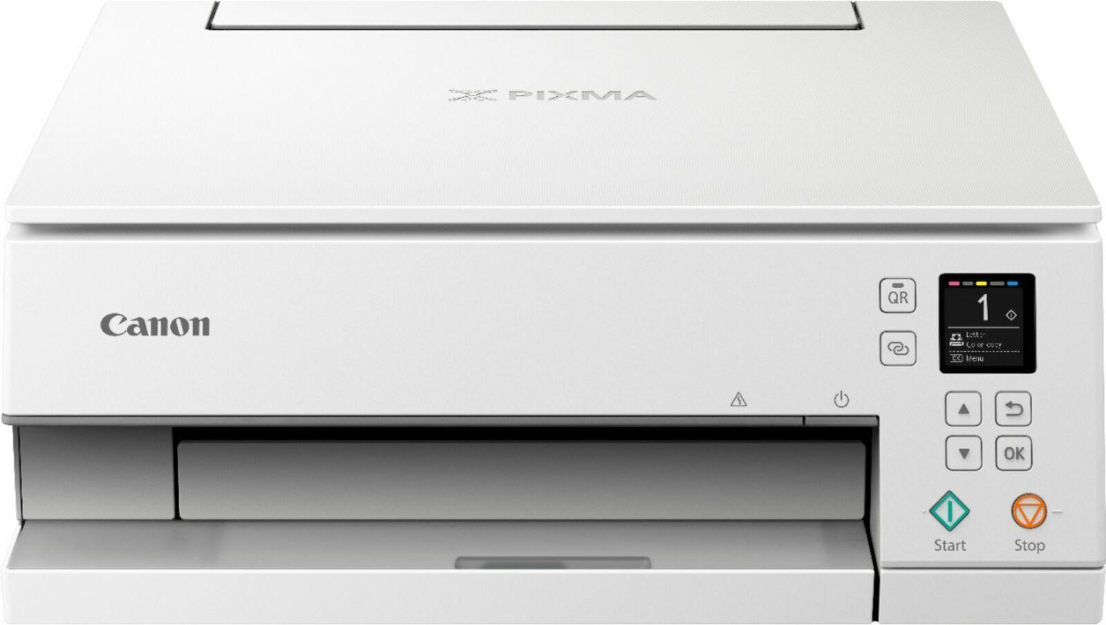 Canon - PIXMA TS6320 Color All-In-One Inkjet Printer - White