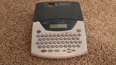 Brother P-touch Pt-2200 2210 Label Name Tape Maker - Works Look
