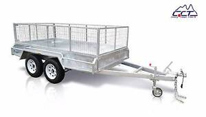 10×5 FULLY WELDED HOT DIPPED GALVANIZED TANDEM BOX TRAILER Rocklea Brisbane South West Preview