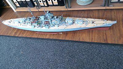 1:200 Bismarck Holz ca 130 cm lang Hachette KUNSTWERK!!!