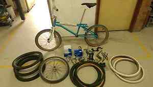 Old school bmx with many parts. Price drop, some parts sold. Mortdale Hurstville Area Preview