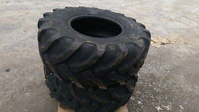 2 New 21l-24 Backhoe Tires R4 - 21lx24 - 21x24 -21-24-fits Case John Deere Etc