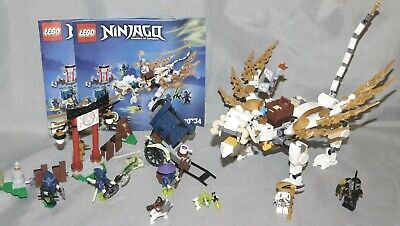 Lego Ninjago set 70734 Master Wu Dragon with Minifigures & Instructions