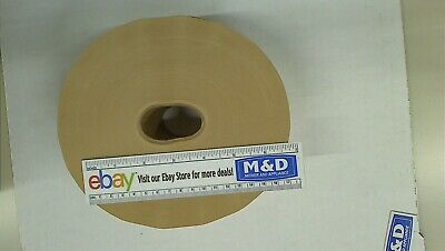 3 X 600 Gummed Paper Water Activated Carton Box Kraft Packaging Ship Tape