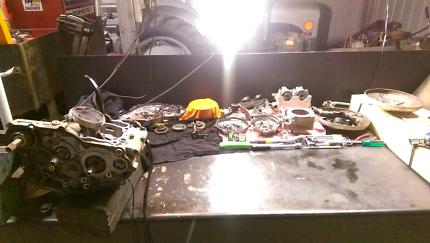 Motorbike mechanic/car service