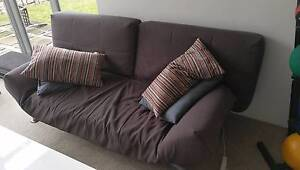 Used Sofa - converts to sofa bed - grey Chatswood Willoughby Area Preview