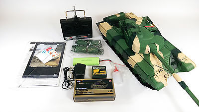 Heng Long 1/16 BB ZTZ 99 RC Battle Tank Shoot Smoke Engine Sound 360 Rotation for sale  Shipping to Ireland
