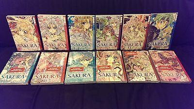 PRINZESSIN SAKURA : Deutsche  Mangas Nr. 1-12 komplett & Neu!