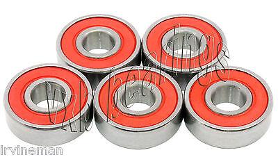 5 Bearings 6203-2RS Electric Motor Sealed Ball Bearing
