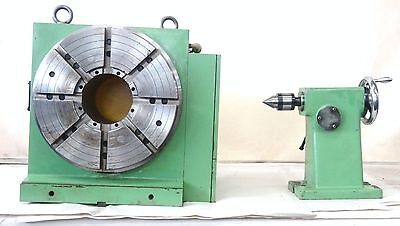 Matsumoto 12 Indexing Cnc Rotary Table Model Mdb-322