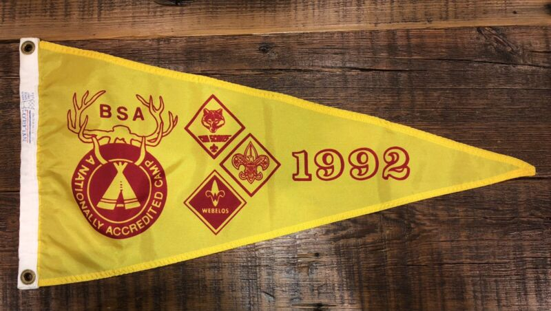 Boy Scout National Camp Accredited Banner 1992