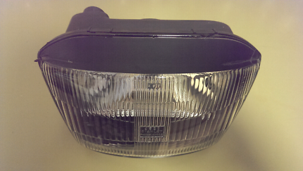 Kawasaki GPX 250 headlight with bulbs