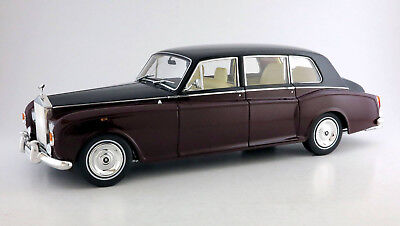 Kyosho Rolls Royce Phantom VI, Red Black, 08905RBK, Brand New Release, Diecast