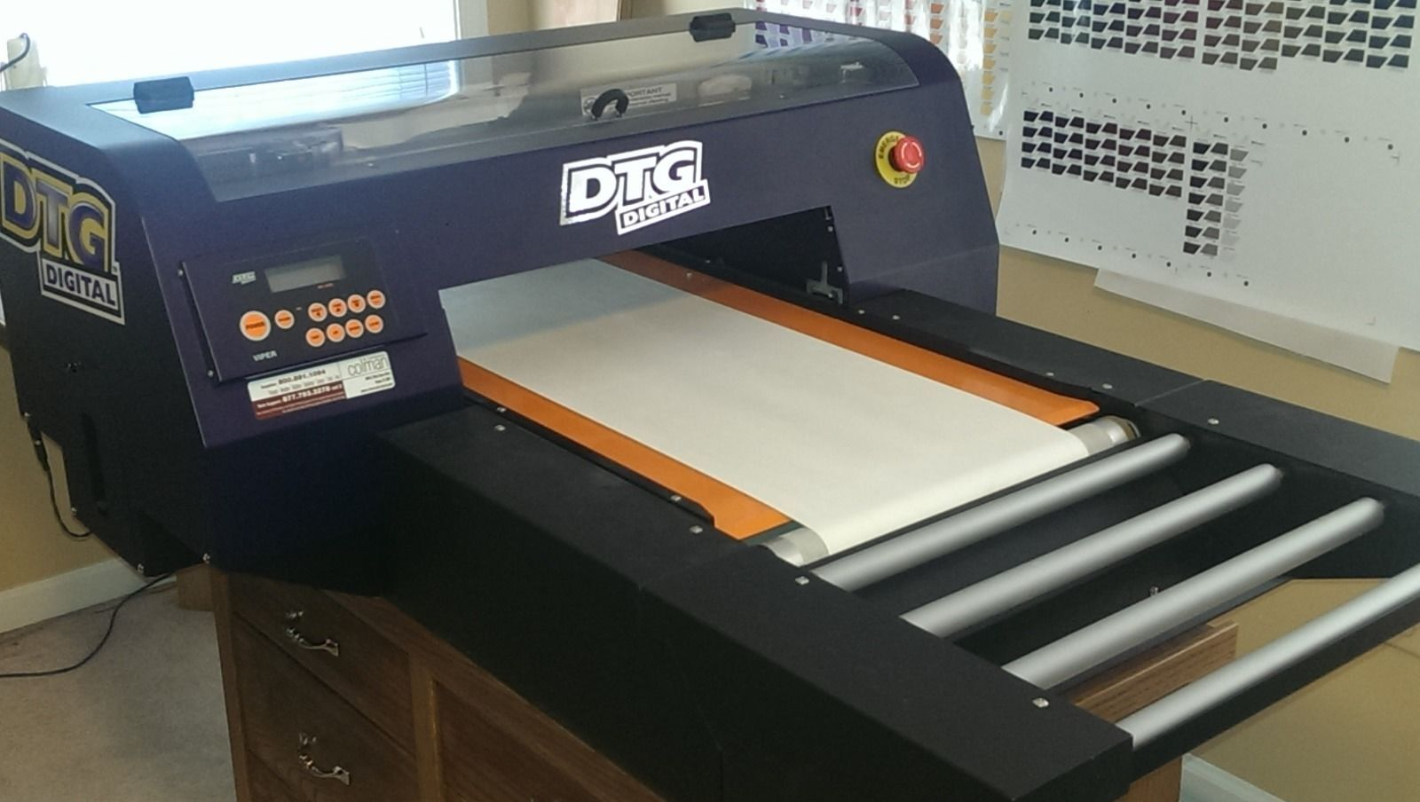 Design your own t shirt digital printing - How To Build A Direct To Garment Printer