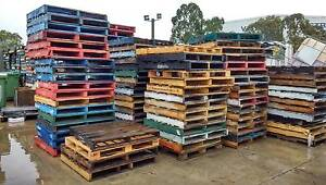 Hardwood & Pine Wooden Pallets Campbellfield Hume Area Preview