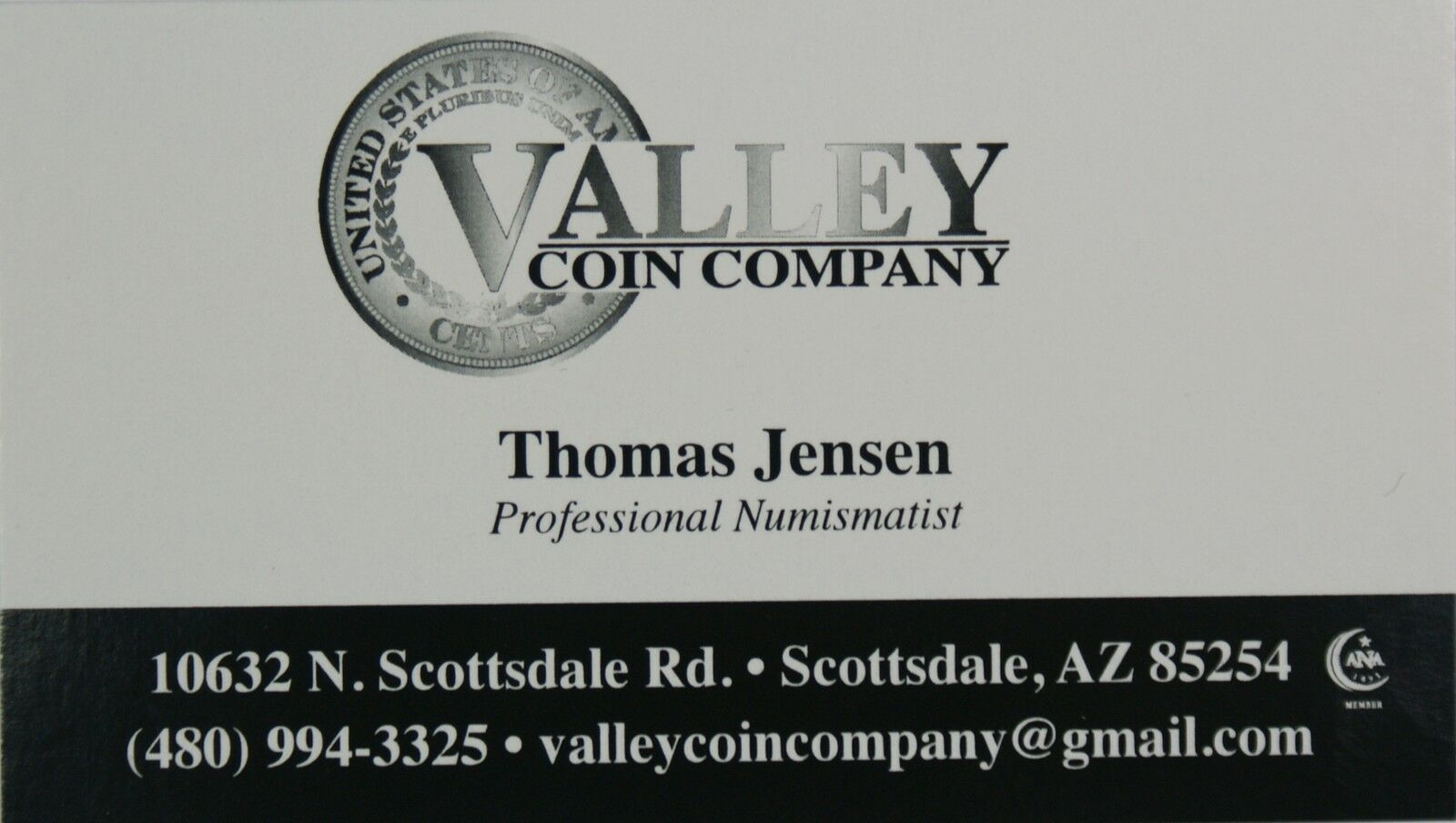 Valley Coin in Scottsdale