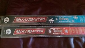 Brand New MotoMaster Winter Wiper Blades with Teflon