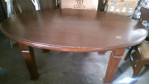 Oval Dinning Table Free Eastwood Ryde Area Preview