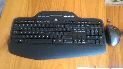 Logitech keyboard mk700/mk710 mouse m705