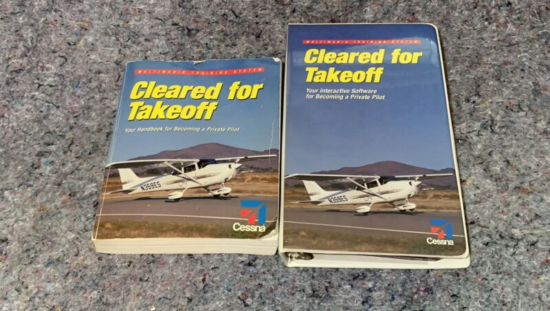 Cleared For Takeoff Cessna Private Pilot CD Training Program Kit With Book
