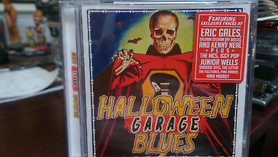 HALLOWEEN GARAGE BLUES CD Wells Iggy MC5 Fuzztones Shuggie Neal Gales Travers - Halloween 2017 New Album