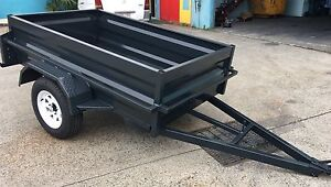 NEW AUSSIE BUILT 7x4 BOX TRAILERS WITH NEW TYRES & RIMS! Redland Area Preview