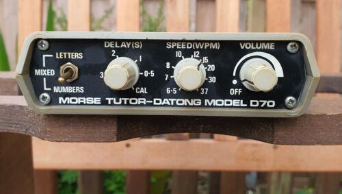Morse Tutor Datong Model 070 Made in England