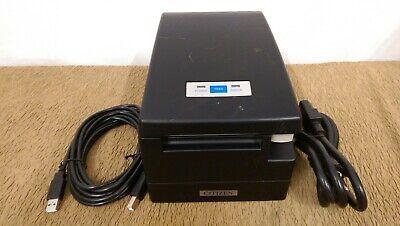 Citizen Ct-s2000 Thermal Receipt Printer Usb Cordpower Cord-used-