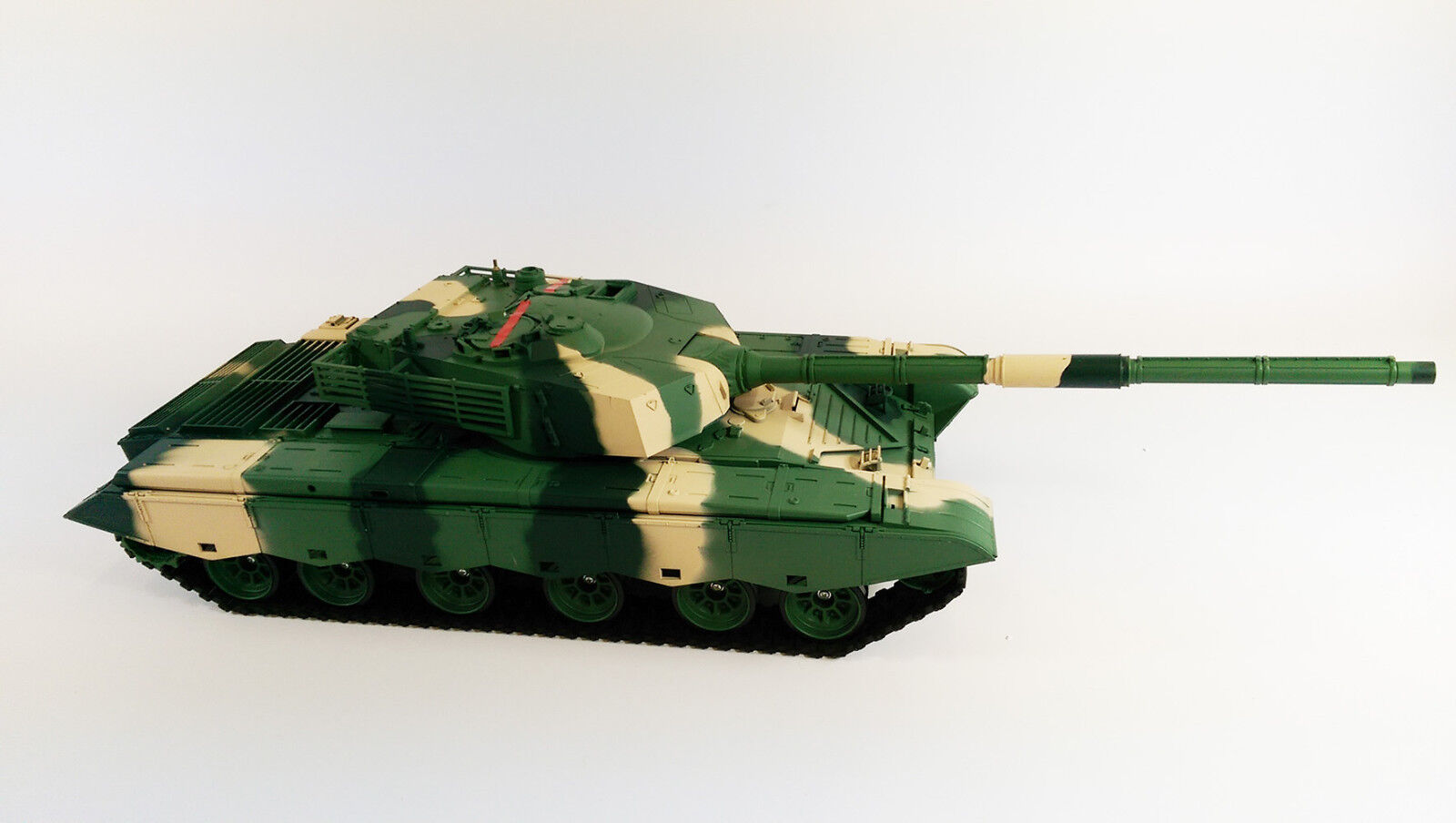 UPGRADED 2.4GHZ Smoke Sound Heng Long Rc Type 99 Rc Battle