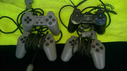 Ps1 controllers x4 Sony PlayStation 1 St Marys Penrith Area Preview