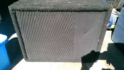 Speaker in box - could be for bass amp East Perth Perth City Preview