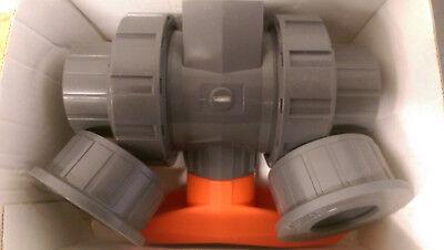 Gf Type 546 80pvc 1-14 True Union Ball Valve Pn 161546345