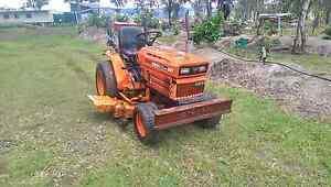 Kubota mower tractor 4x4 Diesel Rosevale Ipswich South Preview