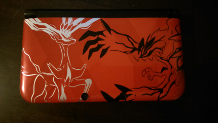 Limited Pokemon X & Y 3DS XL console