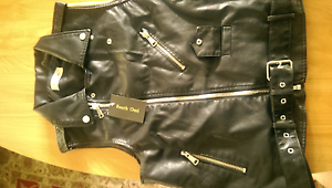 Ladies leather vest Marsden Logan Area Preview