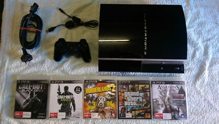 Sony PlayStation 3 17 games gta5 ps3 St Marys Penrith Area Preview