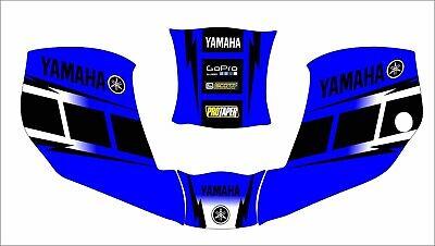 Miller Digital Infiniti 271329 Welding Helmet Decal Sticker Infinity Yamaha Blue