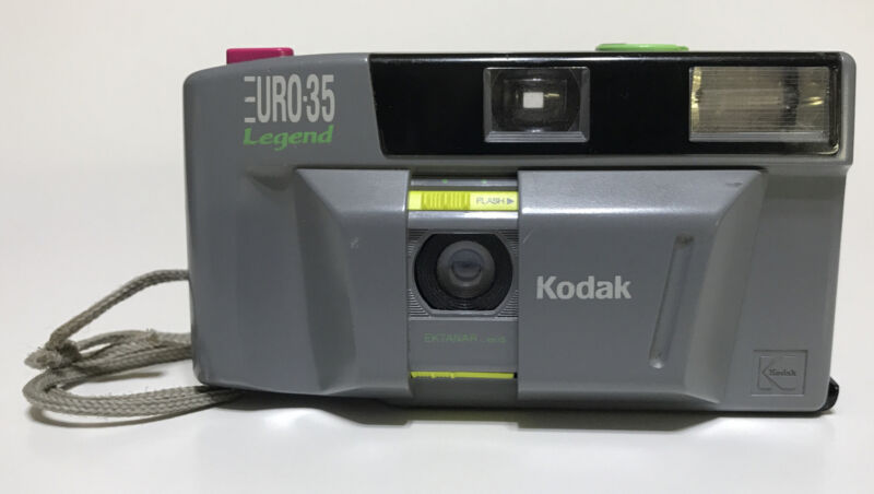 Vintage Kodak Euro-35 Legend 35mm Film Point and Shoot Camera - Tested and Works