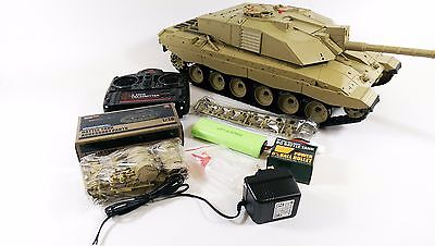 HUGE! Heng Long 1/16 2.4GHz Challenger 2 BB RC Tank British Desert SMOKE SOUND for sale  Shipping to Ireland