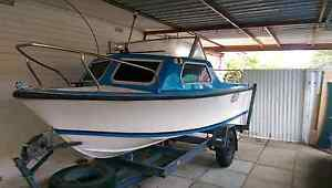 16ft half cabin 40hp tohatsu Hamersley Stirling Area Preview