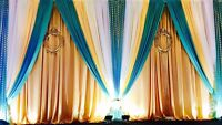 Affordable backdrops for any event starting $200