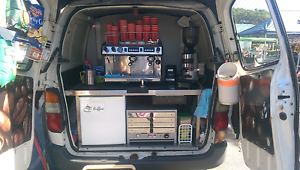 Coffee van for sale with run in place Bundamba Ipswich City Preview
