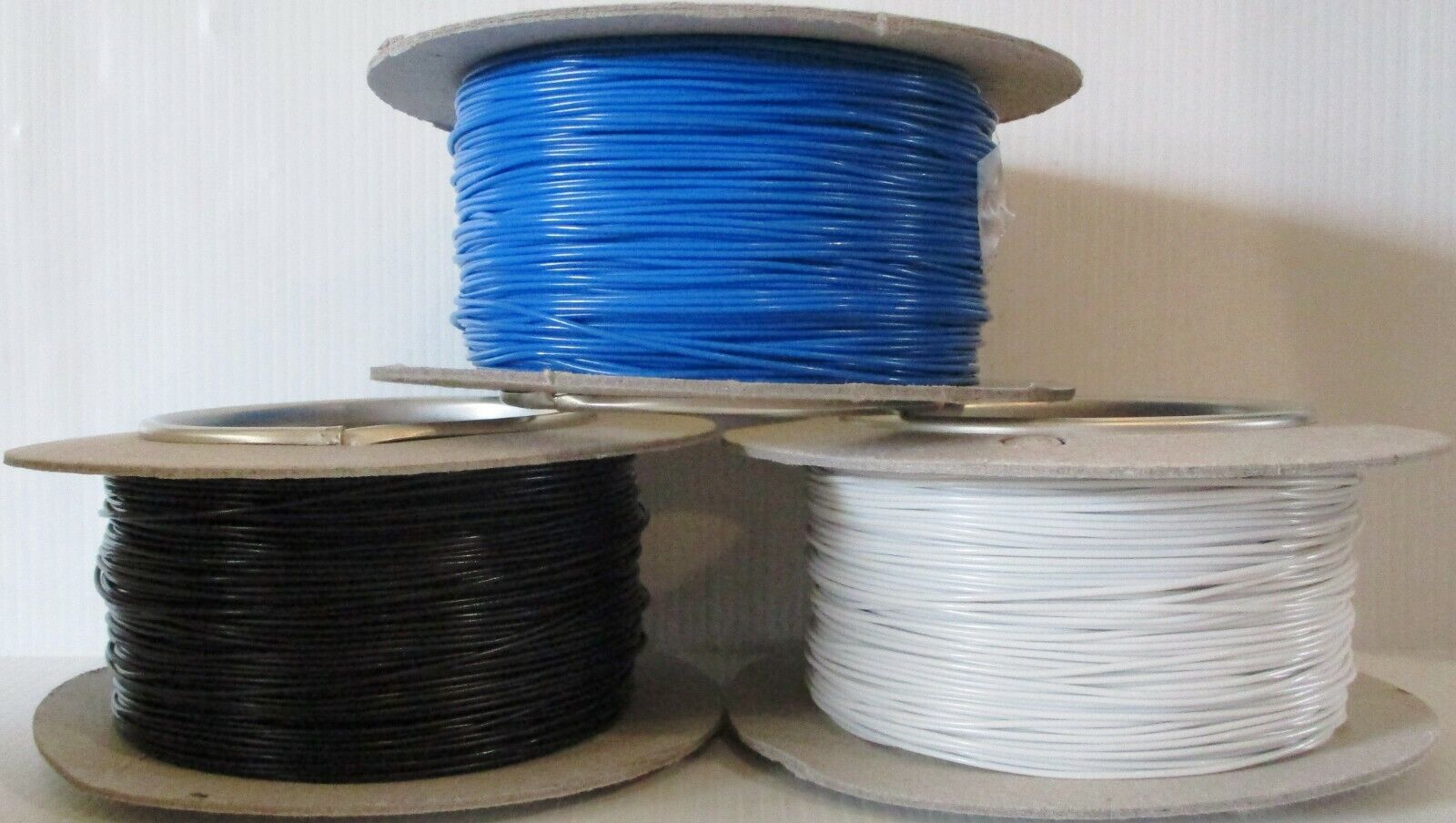 MODEL RAILWAY WIRING KIT 8 COLOURED CABLES 3M EACH 7//0.2mm