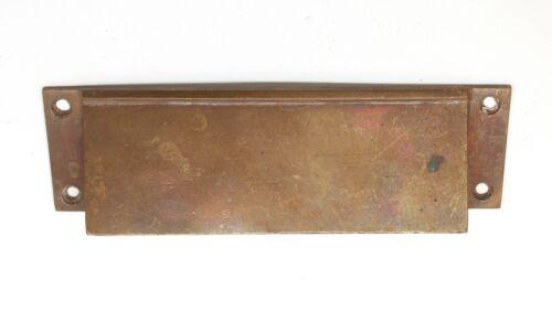 Cast Brass Antique Mail Slot